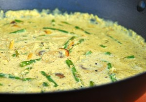 recept Curry-groene-asperges